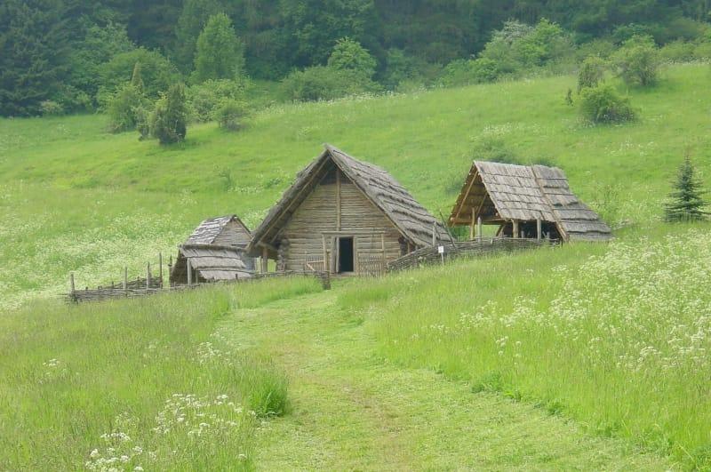 Keltská usadlosť na Havránku