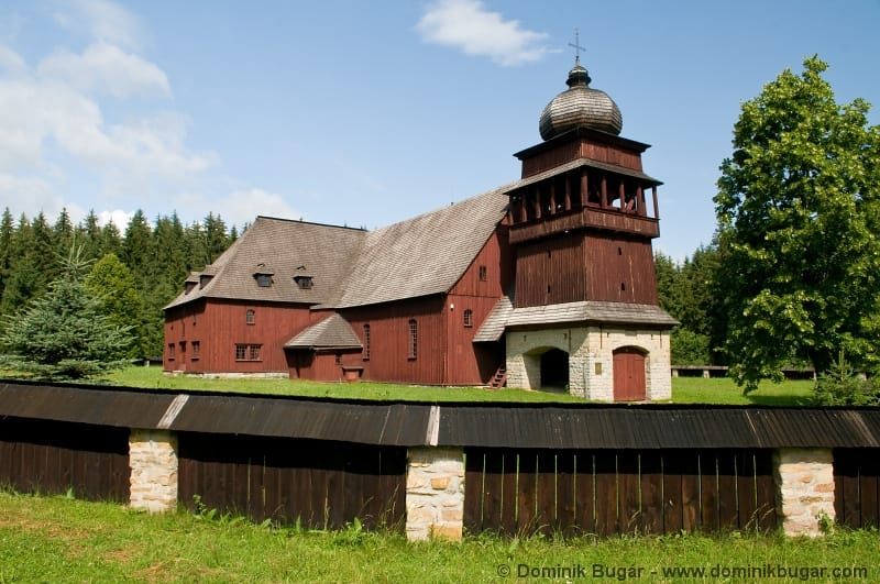 Wooden Articular Church in Svätý Kríž