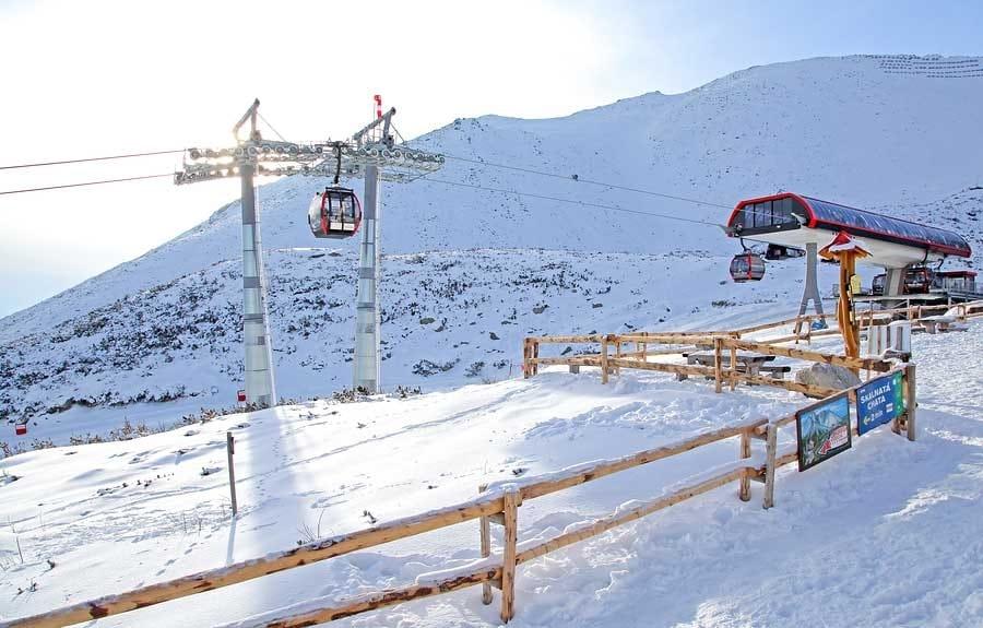 Ski resort Tatranská Lomnica