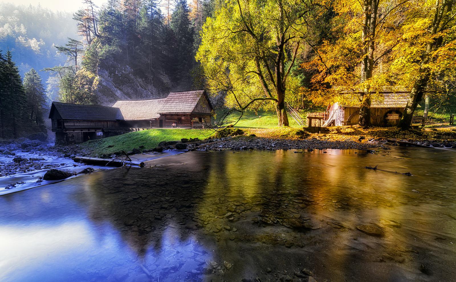 Oblazy Mills in Kvačianska valley