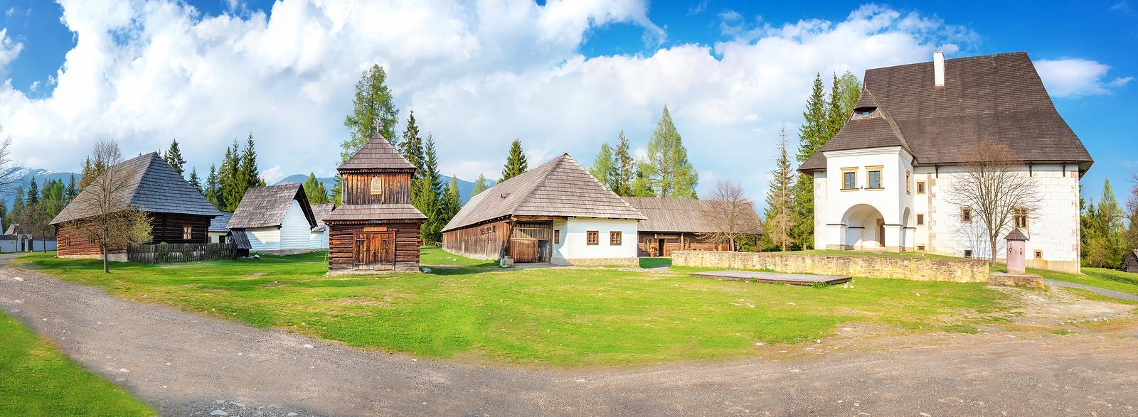 Museum of Liptov village in Pribylina