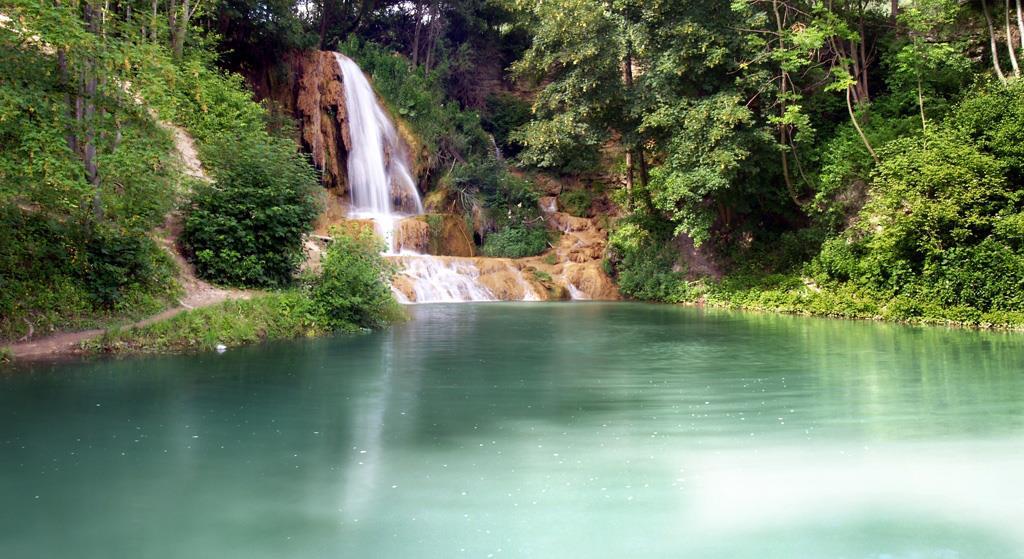Lučanský Waterfall